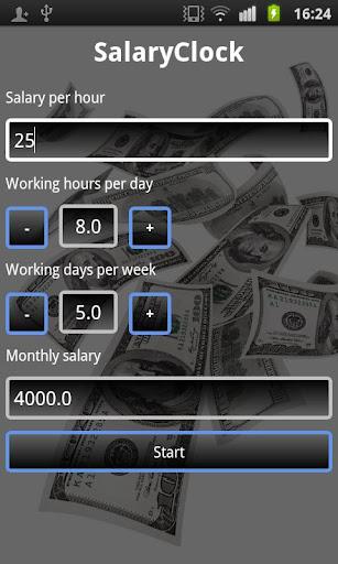Salary Clock
