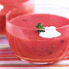Cold Tomato and Sour Cream Soup