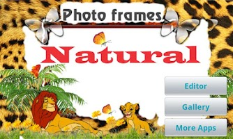 Screenshot of Natural Photo Frames