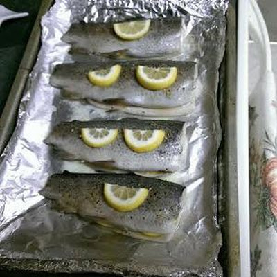 Baked Lemon Pepper Trout