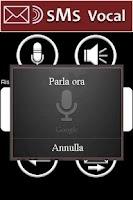 Screenshot of SMS Vocal