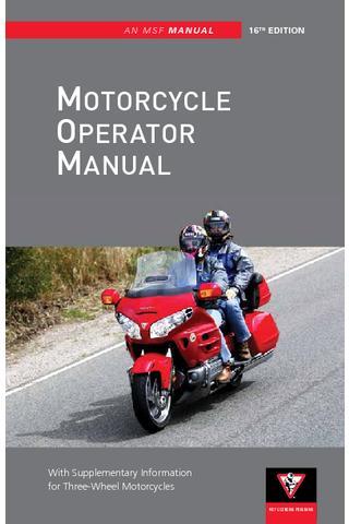 Indiana Motorcycle Manual