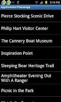 Screenshot of Sleeping Bear Easy Access