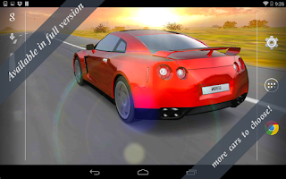 Screenshot of 3D Car Live Wallpaper Free