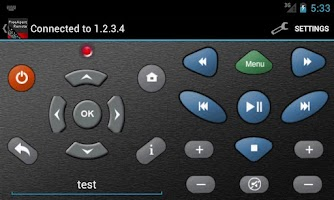 Screenshot of GoFlex TV / Theater+ Remote