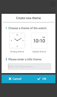 Screenshot of Watch Styler for Gear
