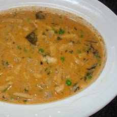 Monkfish Thai Red Curry