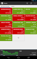 Screenshot of Stocks Tracker