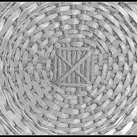 Square and circles by Prasanta Das - Abstract Patterns ( circles, patterns, square )