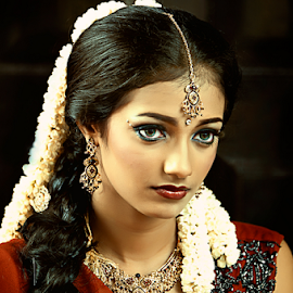Beauty of Little India by Joey Bangun - People Portraits of Women