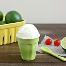 Fresh Lime Sherbet