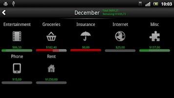 Screenshot of Budget Ninja