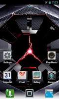 Screenshot of DROID RAZR GO Launcher Theme