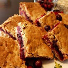 Spiced Cranberry Bars