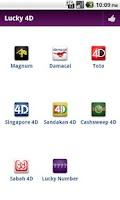 Screenshot of Lucky 4D result