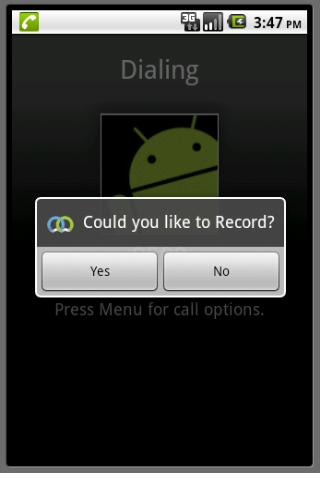 Mobile Call recorder basic.