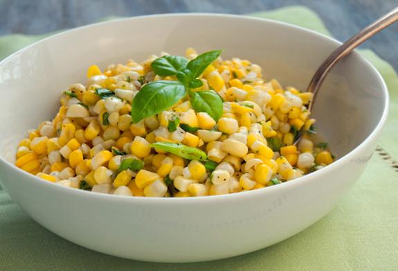 crumbled into a crisp fresh corn salad charred corn salad with ...
