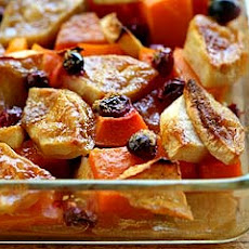 Butternut Squash Apple Cranberry Bake