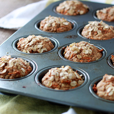 Vegan Spiced Carrot Muffins
