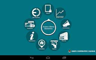 Screenshot of Grupo Coop. Cajamar Tablets