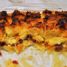 Hint of Orange Bread Pudding
