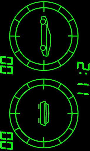 スピードヘルパー HUD