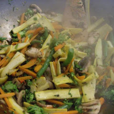 Crisp Noodle and Vegetable Stir-Fry
