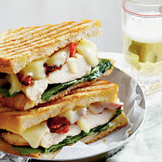 Smoky Chicken Panini with Basil Mayo