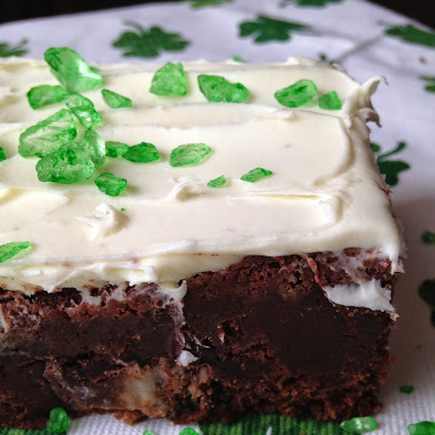 Peppermint Patty Fudge Brownies