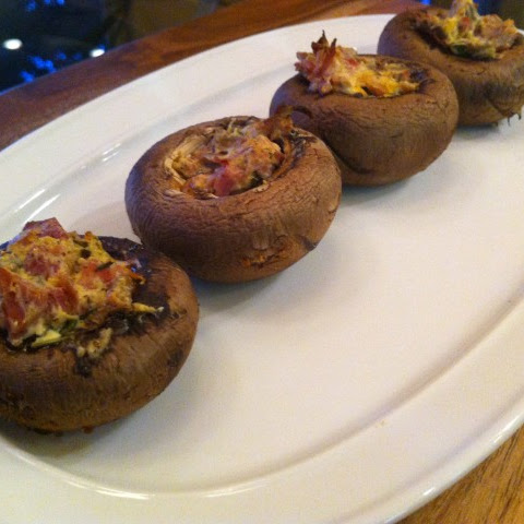 Prosciutto-Stuffed Mushrooms