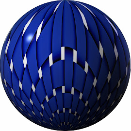 by Dipali S - Logos All Logos ( logo, meshed, ball, pattern, blue, illustration, globe, netted )