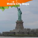 New York Street Map icon