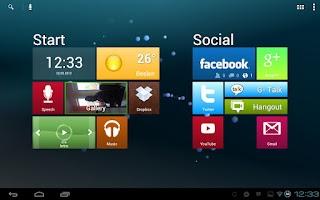 Screenshot of Metro Ui HD Widget Tile Win 8