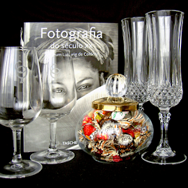 Glasses and others by Antonio Amen - Artistic Objects Glass ( glasses )