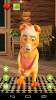 Screenshot of Talking Christopher Cat
