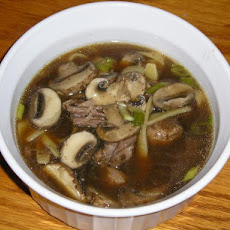 Slow Cooker Ginger-Beef Noodle Soup