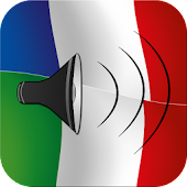 French to Italian talking phrasebook translator