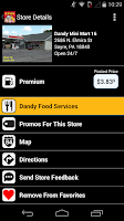 Screenshot of Dandy App
