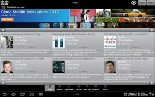 Screenshot of Cisco Connect 360