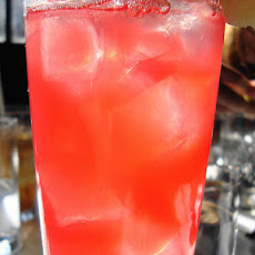 Fizzy Cranberry-Lemonade Punch
