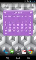 Screenshot of My Month Calendar Widget Lite