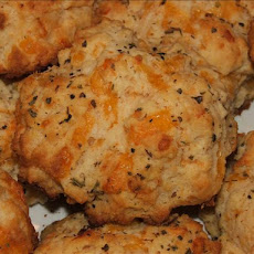 My Own Best Cheddar Drop Biscuits