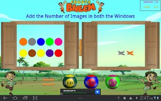 Screenshot of Window Game with Chhota Bheem