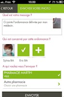 Screenshot of Marque Verte Mobile