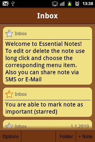 Essential Notes