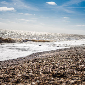 Dunwich on the Suffolk coast by Simon Hawketts - Landscapes Beaches
