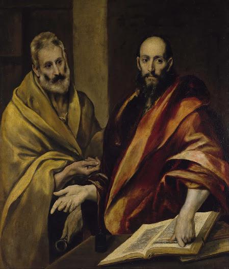 El Greco, Santi Pietro e Paolo