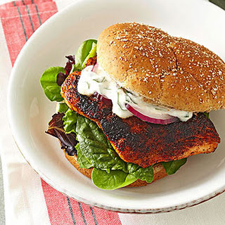 Coffee-Rubbed Salmon Sandwiches