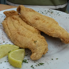 GF pan fried catfish (only available when restaurant is not busy)