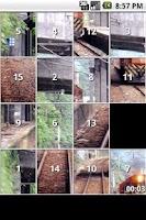 Screenshot of Train Slide Puzzles iSlider